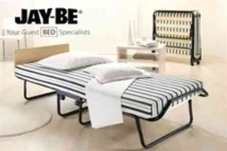 Bed Centre UK - Jay Be Dual Density Folding Bed Incl Delivery - Save 50%