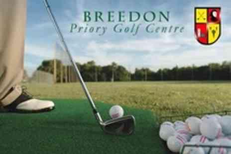 Breedon Priory Golf Centre - Two Golf Rounds For Two - Save 40%
