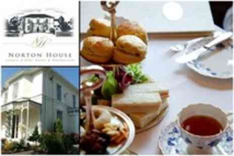 Norton House Hotel and Spa - Afternoon Tea For Two With Scones, Cake and Sandwiches - Save 50%