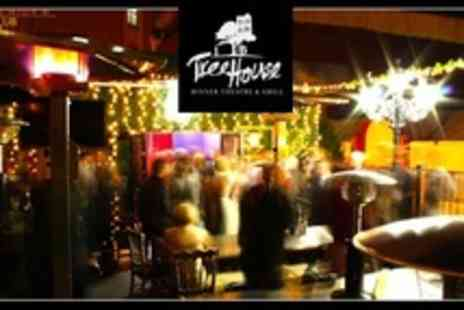 The Treehouse Dinner - Burritos for Two With Beer or Margarita Each - Save 55%