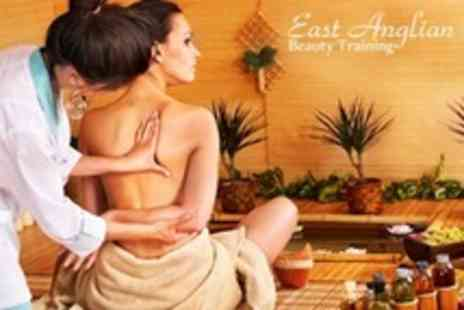 East Anglian Beauty Training - Three Hour Massage Workshop For One People - Save 17%