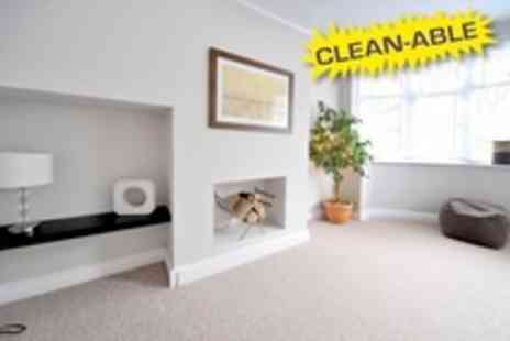 Clean Able - Carpet Clean For One Rooms - Save 62%