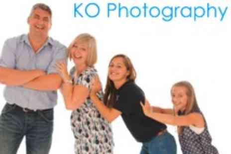 KO Photography - Family Photoshoot With Prints and Digital Images - Save 47%
