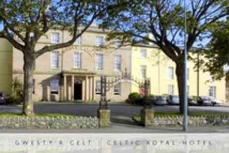 Celtic Royal Hotel - One Night Stay For Two With Three Course Meal and Access to Leisure and Spa Facilities - Save 44%
