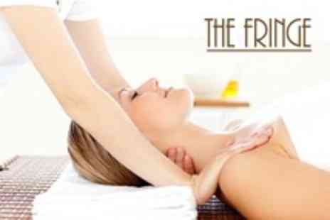 The Fringe - Facial With Neck and Shoulder Massage - Save 50%