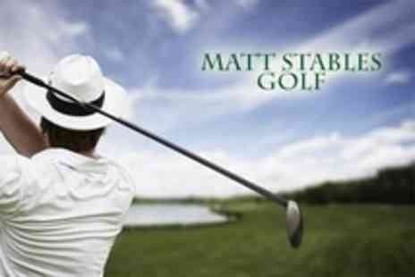Matt Stables Golf - Ten Group Lessons With PGA Professionals - Save 57%