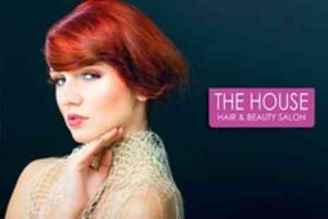 The House Hair and Beauty Salon - Full Head of Colour or Half Head of Highlights With Cut and Restyle - Save 73%