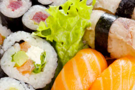 Sakushi - Eight Plates of Sushi and 10% off Bottles of Wine - Save 67%