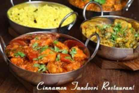 Cinnamon Tandoori Restaurant - Two Course Nepali Indian Meal For Two or Four - Save 55%