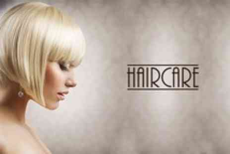 Haircare - Half Head of Highlights or Full Head of Colour With Cut and Blow Dry - Save 57%