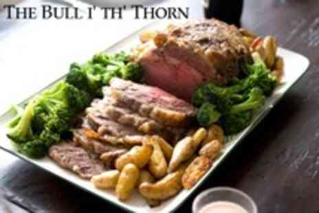 The Bull i th Thorn - Two Course Sunday Dinner For Two - Save 58%