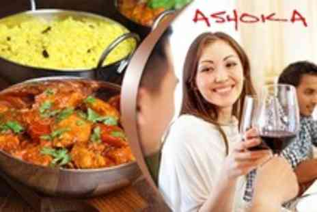 Ashoka - Two Indian Cuisine Courses For Two - Save 52%