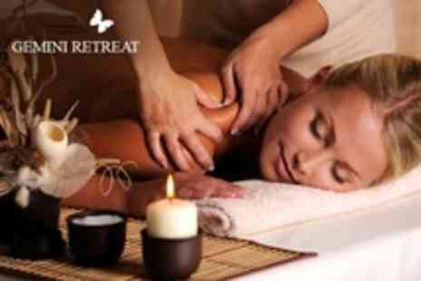 Gemini Retreat - 60 Minute Swedish Full Body Massage - Save 60%