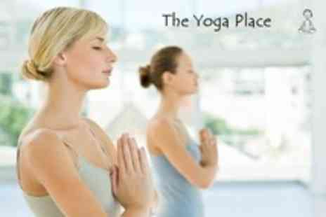 The Yoga Place - Ten 75 Minute Classes - Save 73%
