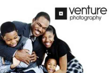 Venture South Woodford - Family Photoshoot With 10 x 8 Framed Print - Save 88%