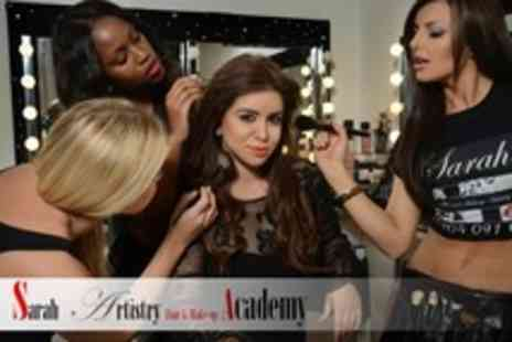 Sarah Artistry - Three Hour MAC Pro Make Up and ghd Hairstyling Workshop - Save 95%