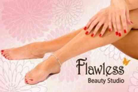 Flawless Beauty Studio - Gelish Manicure and Pedicure - Save 57%