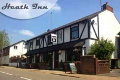 The Heath Inn - In Bedfordshire One Night Stay For Two With Breakfast - Save 69%
