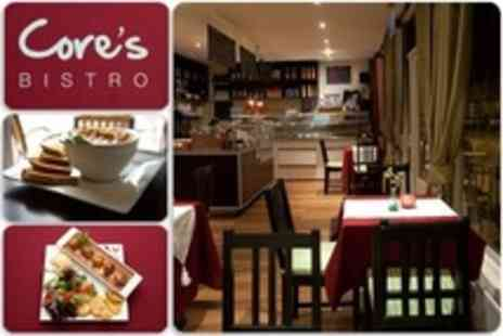 Cores Bistro - Polish Cuisine Two Course Meal With Beer or Hot Drink For Two - Save 63%