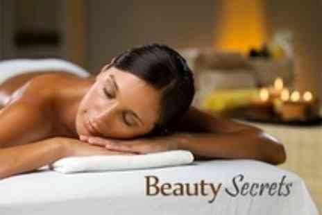 Beauty Secrets - Choice of Massage Such as Aromatherapy Plus OPI File and Paint - Save 59%