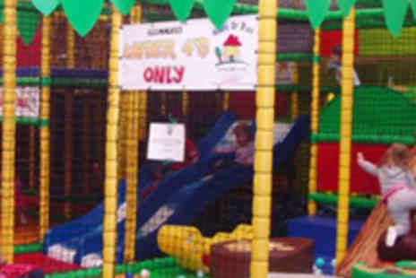 Jungletastic - Pass to Soft Play Centre and Soft Drink for Two - Save 55%