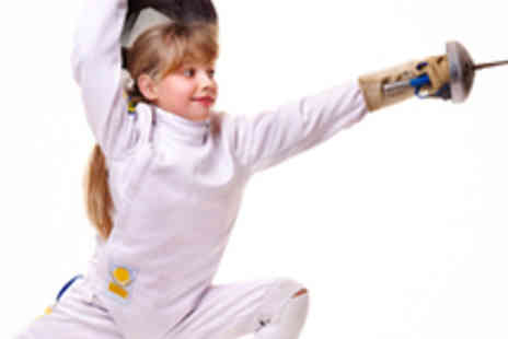The Musketeers Club - Four 60 Minute Fencing Classes for Ages 6 to 15 - Save 63%
