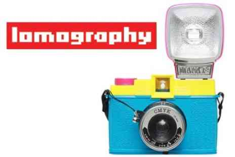 Lomography - Voucher to Spend on Creative Analogue Camera Kit Instore - Save 60%