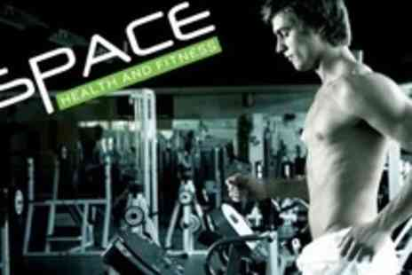 Space Health and Fitness - Six Week Gym Pass Plus Two Personal Training Sessions - Save 93%