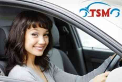 The School of Motoring - Three Driving Lessons - Save 52%