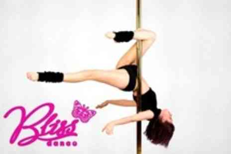 Bliss Dance Studios - Four Pole Dancing or Aerial Hoop Classes - Save 63%