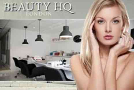 Beauty HQ - Pamper Package with Facial and Massage With Manicure or Pedicure - Save 50%
