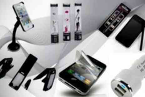 Simply Live - Kit Your Iphone 4/4s Out with this Iphone Accessory Kit - Save 58%