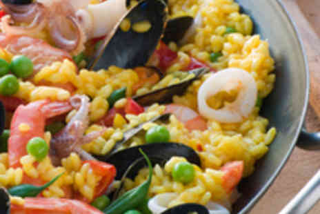 Malvarosa - Paella Lunch for Two with Sangria - Save 58%