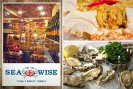 Seawise - Seafood Meal Including Mussels and Oysters With Prosecco - Save 52%