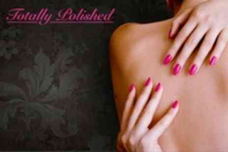 Totally Polished Beauty salon - Luxury OPI Mani or Pedi - Save 55%