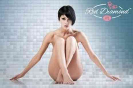 Red Diamond IPL - IPL Hair Removal Three or Six Sessions on Choice of Areas - Save 80%