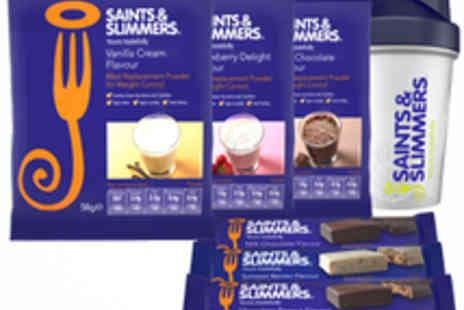 Saints & Slimmers - Meal Replacement Plan including Shakes and Bars - Save 53%