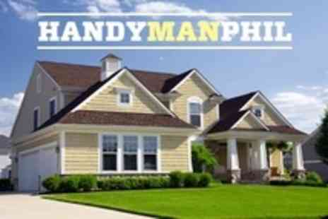 Handyman Phil - Handyman and Gardening Services Two Hours - Save 79%
