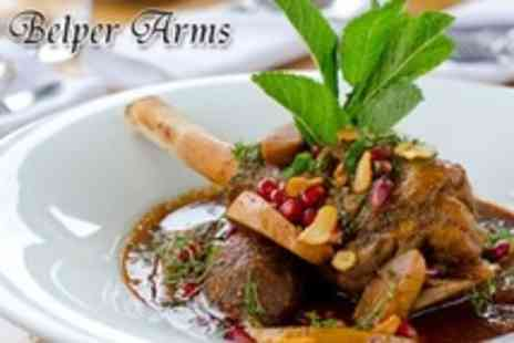 The Belper Arms - Two Course Pub Meal For Two or Four With Liquor Coffee - Save 57%