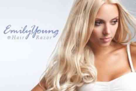 Emily Young @ Hair Razor - Restyle Cut Wash and Conditioning Treatment - Save 50%