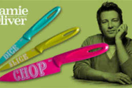 Brand Arena - Three piece Jamie Oliver knife set - Save 60%