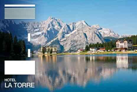 Hotel Spa La Torre - Discover the Dolomites: Seven Night Stay For Two Plus Return Airport Transfers and Six Course Dinner - Save 50%
