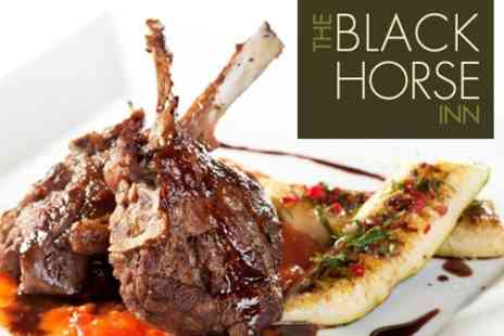 The Black Horse Inn - Two Course Meal For Two - Save 60%