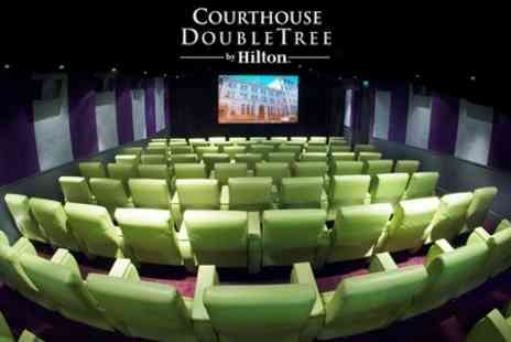 Courthouse Doubletree Hilton Hotel - Ticket to Classic Film of Choice With Cocktail and Movie Snacks for £15 - Save 55%
