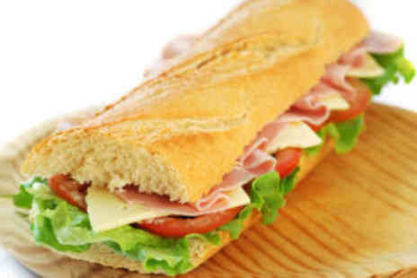 Baguette Express - Delicious lunch for two - Save 64%