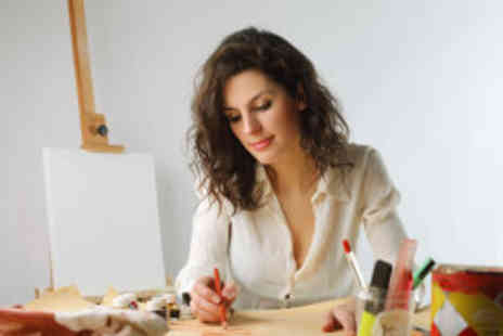 The London Academy of Art - Eight three hour art classes, twice a week for a month - Save 85%