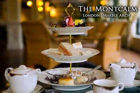 The Montcalm - Champagne Afternoon Tea for Two for £31 - Save 56%