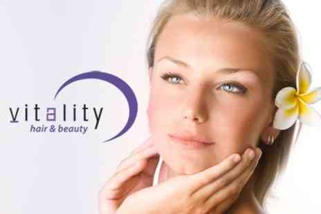 Vitality Hair and Beauty - Nu Skin Treatment for £18 - Save 64%