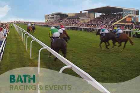Bath Racecourse - An Afternoon at the Races including Choice of Irish and Oktoberfest Racedays - Save 64%