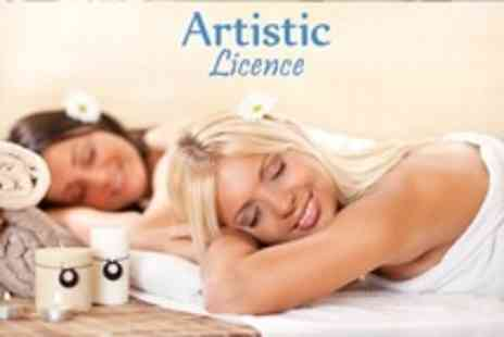 Artistic Licence - Two Treatments Pamper Package For One Plus Hot Tub and Gym Access - Save 51%